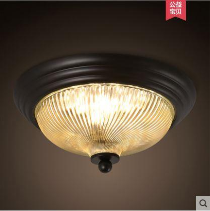 Pays américain entrée hall plafonnier chambre rétro couloir nostalgique  allée mèche ronde petite lampe de plafond