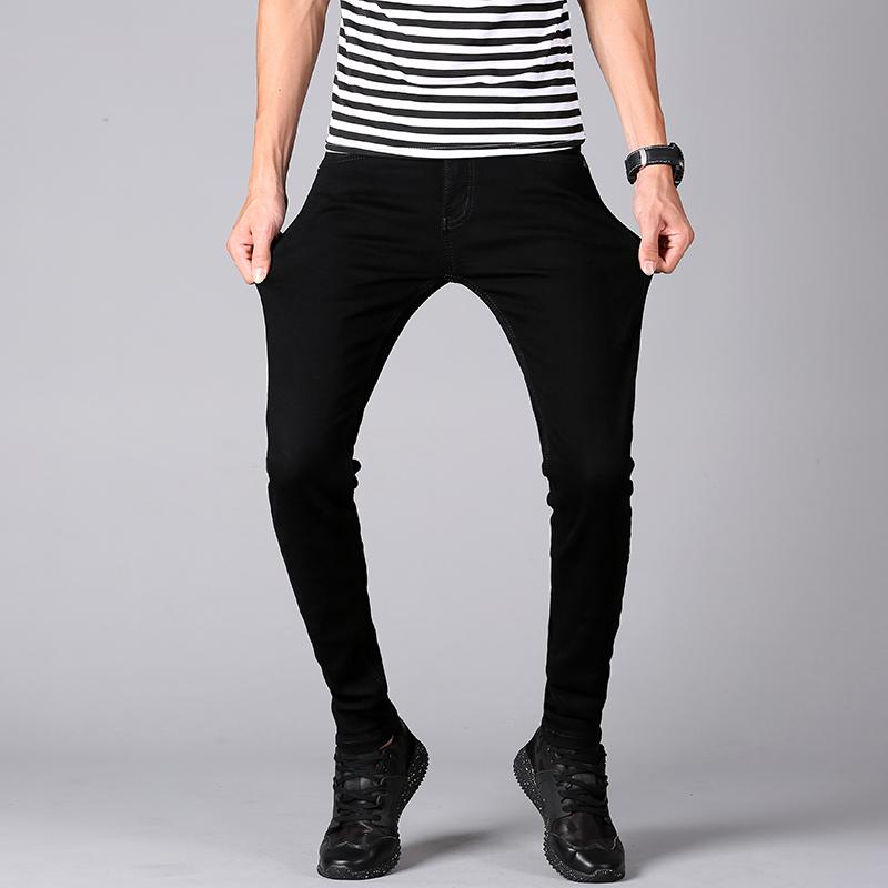 2019 2018 Fashion Men S Skinny Jeans Man Classic Slim Fit Stretch
