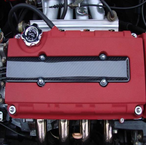 Bujía de fibra de carbono INSERTAR el arnés de la cubierta para el motor Honda B16 B18 B17