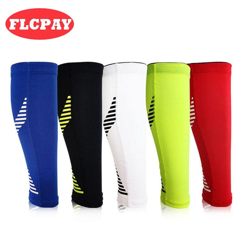 2019 Men Women Shin Guards Soccer Football Protective Leg Calf ... da5c289e8