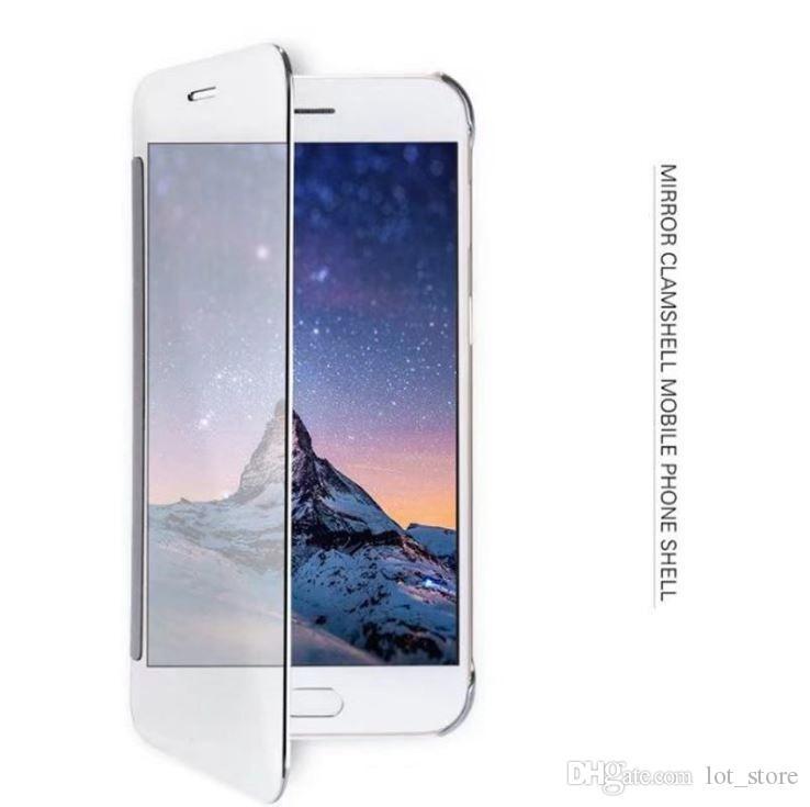 Cas de téléphone pour iPhone 8 8 Plus TPU en silicone Clear Flip Case pour iPhone 6 6S 7 8Plus Crystal Cover Ultra Mince Coque