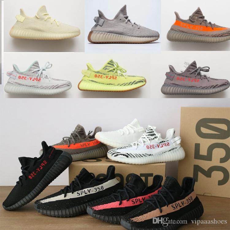 first rate 94b22 802ef Adidas Yeezy Yeezys 350 Boost GRAN DESCUENTO V2 Sésamo F99710 Ice Yellow  F36980 Zebra, Tinta Azul, Noche Roja Violet Beluga 2.0, Cp9366 Blanco,  Cp9652 Breds ...