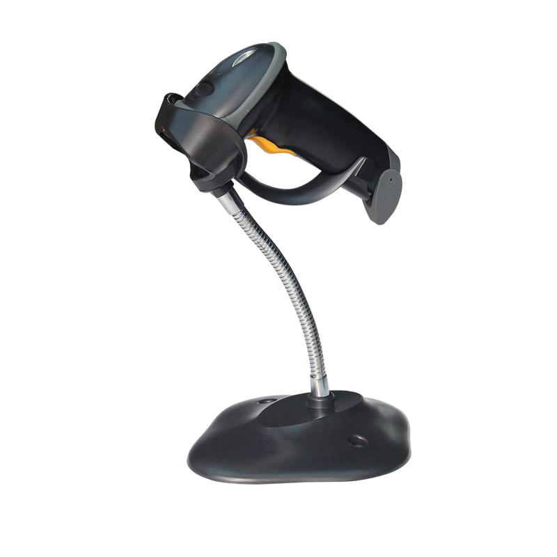 Bar Code Scanner Reader Wireless Handle Automatic Laser Barcode Scanner