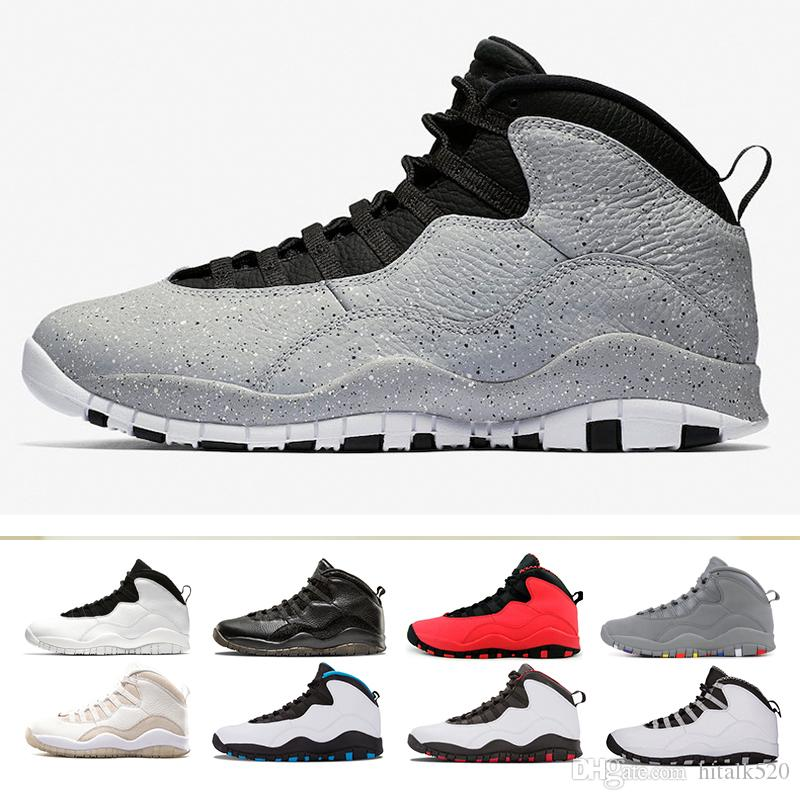 2993d67fa7d43b New 10 10s Westbrook I M Back Chicago Cement Men Basketball Shoes White  Black Steel Grey Chicago Powder Blue GS Fusion Red Sports Sneakers Men Shoes  Online ...