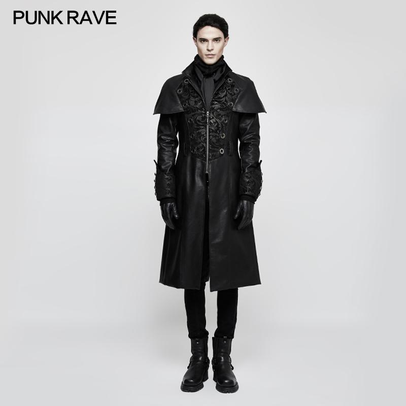4d95abeb 2019 2017 Punk Rave New Rock Gothic Vampire Steampunk Fashion Copaly Style  Coat Y802BK From Lucu, $287.11 | DHgate.Com