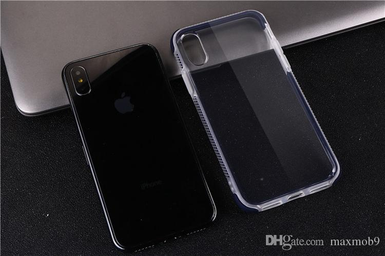 جديدة لفون برو 11 XS MAX XR X 6S 7 8 PLUS TPU حالة تغطية الهاتف الخليوي المحمول لينة شفافة للصدمات تصميم ضئيلة تصميم حالة ترف