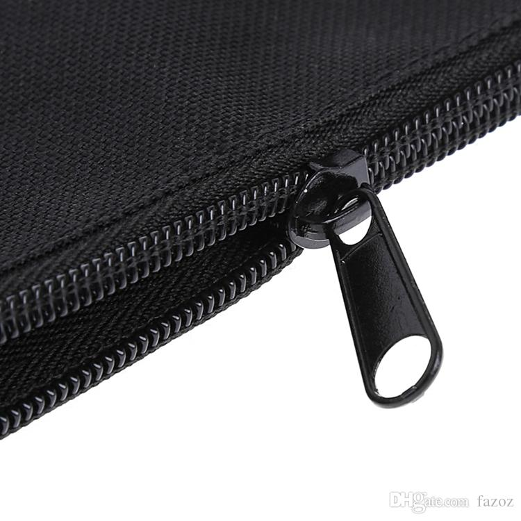 Waterproof 600D Oxford Fabric Toolkit Zipper Pouch Tool Bag Zipper Storage Instrument Carrying Case