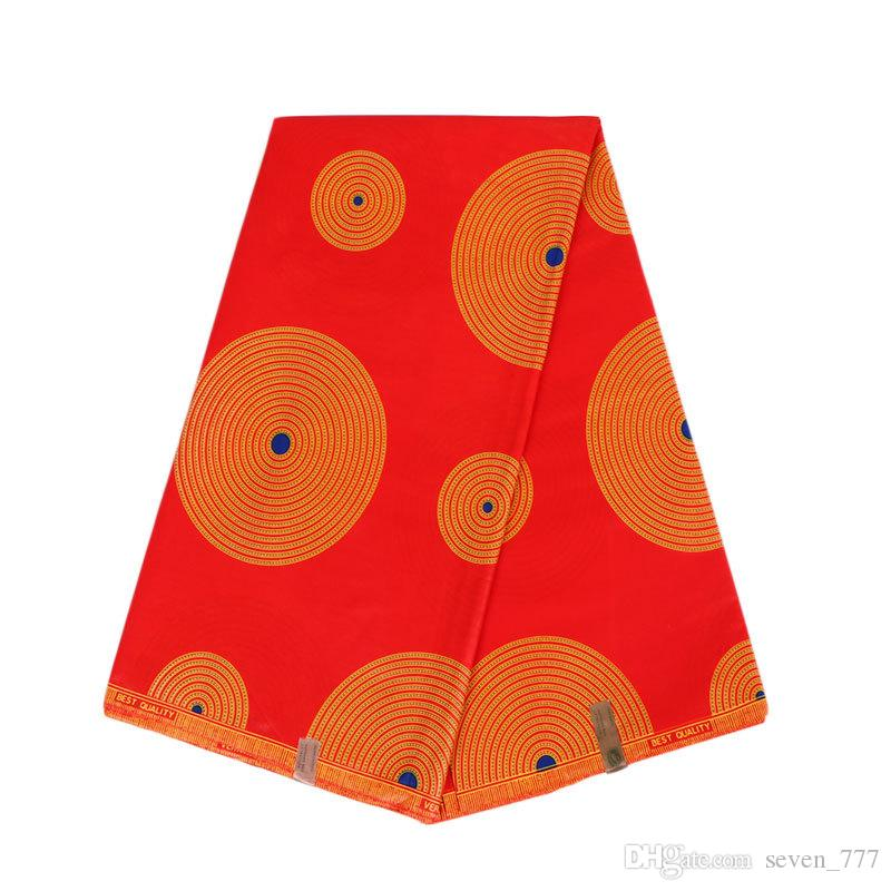 2018 hollandais wax fabric 6 yards prints cotton wax best price high
