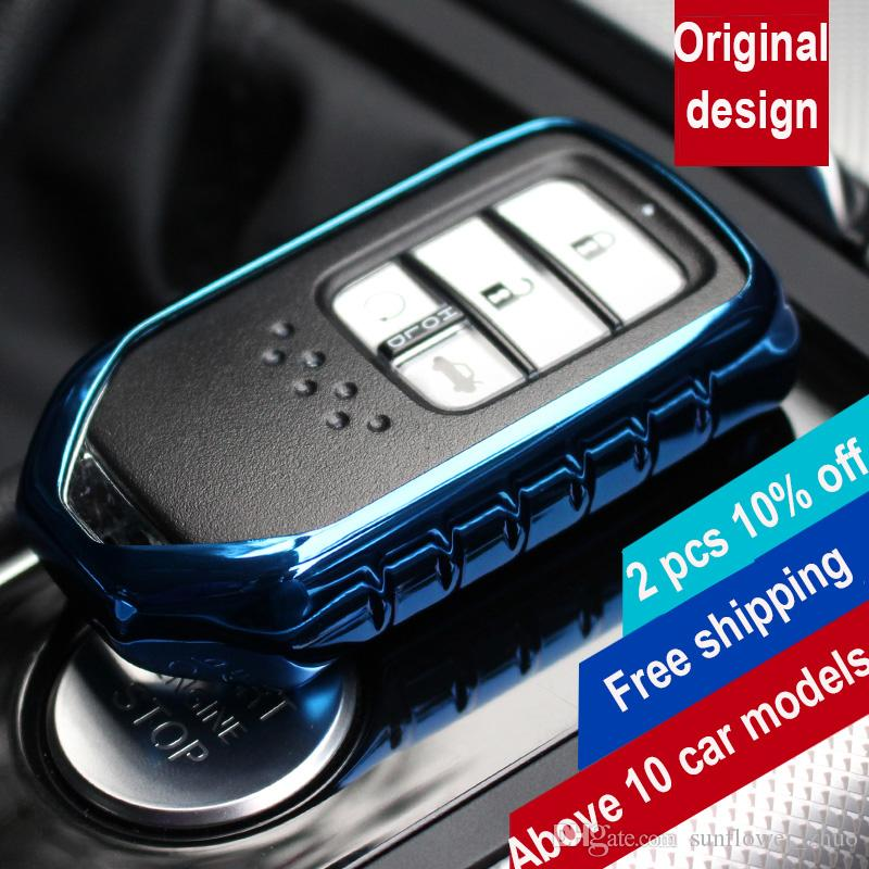 Car Covers For Honda Key Car Styling Remote Key Cover Suitable For