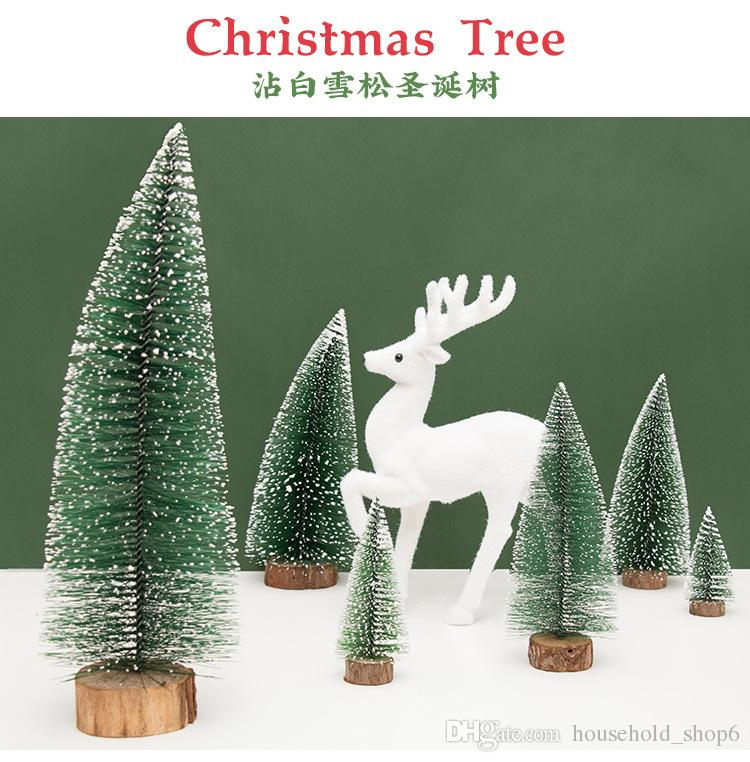 christmas tree decorations home party decor supplies tree with white cedar desktop furnishing tree chrismas gift for children xmas decorations online xmas - Christmas Tree Decorations Sale