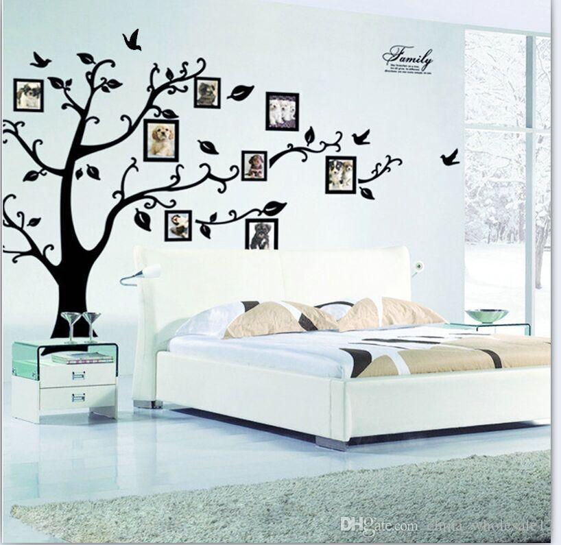 Diy Family Photo Frame Tree Wall Sticker Home Decor Living Room ...