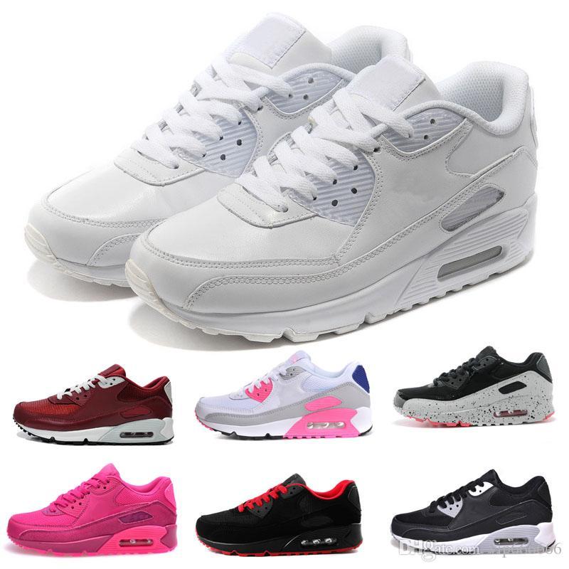 1b0b174263d New Air Cushion90 Running Shoes Men Women Outdoor Run Shoes Designer ...