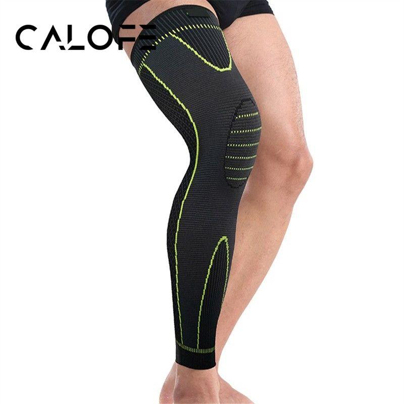 de0c3d370d CALOFE Running Cycling Elastic Knee Support Braces Fitness Nylon ...