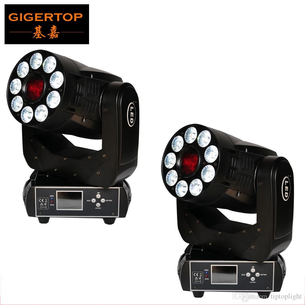 2018 Discount Price 2 Pack 200w Led Moving Head Spot Wash 2in1 Light