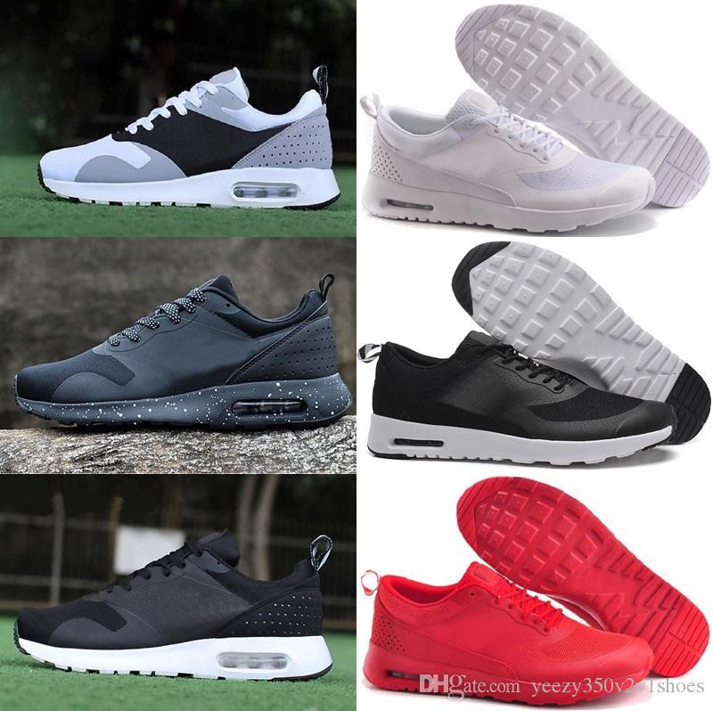 Cojín de aire informal casual para hombre THEa PRINT 87 90 SHOES ocasionales para sneakers casuales de hombre sirve para calzado ligero US 7 11