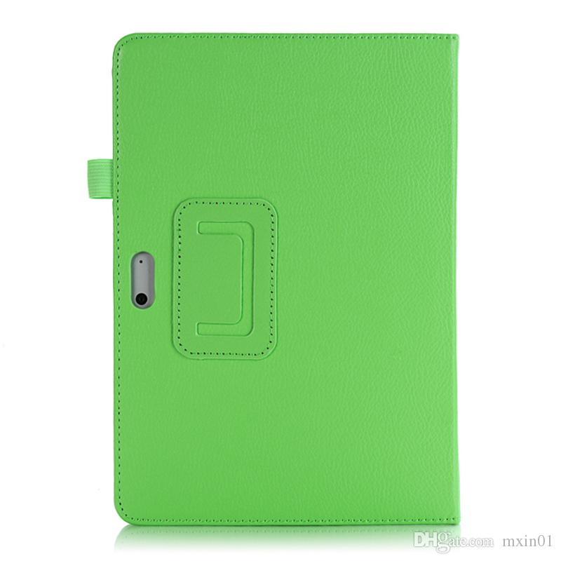 Тонкий личи раза стенд флип кожаный смарт магнитный чехол может держать клавиатуру для нового Microsoft Surface Go SufaceGo 10 10.0 дюймов планшет
