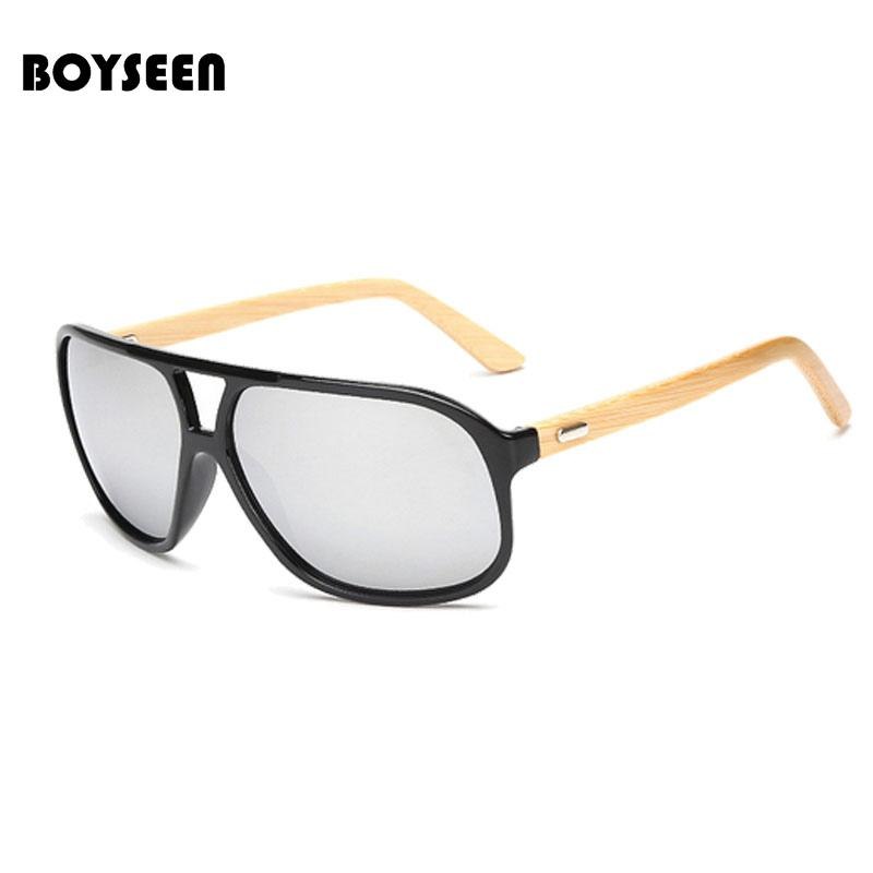 New 1524 Without Border Wooden Handmade Au Fashion Frame Women Men Boyseen Sunglasses Retro Bamboo Wood Products Sunglass Lens 5LR3Aj4q