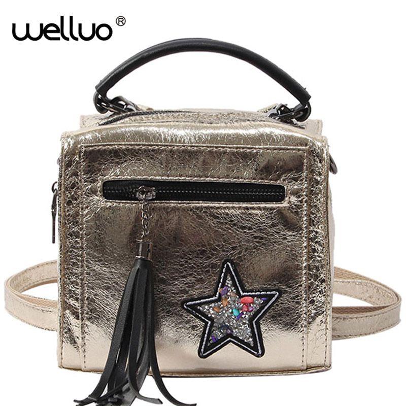 Wholesale New Mini Backpack Glitter Tassel Rucksack Teenage Girls School  Bags Small Backpacks Female Travel Tide Mochila XA396WB Online with   54.77 Piece on ... 39969713d07b