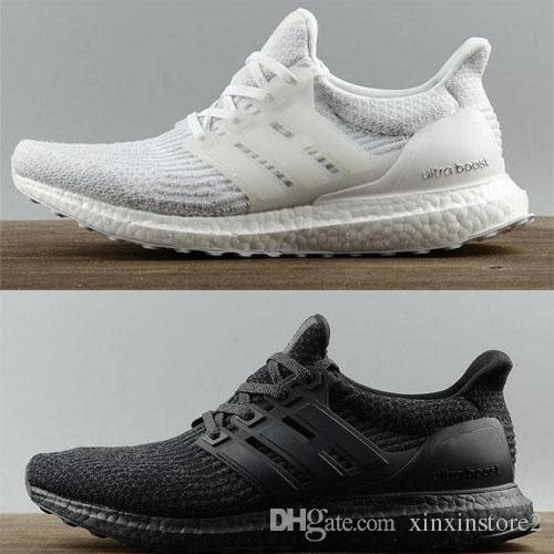 Adidas Ultra Boost Ultra Boost 3.0 III Uncaged Laufschuhe Herren Damen Ultraboost 4.0 IV Sneaker Primeknit Läuft Weiß Schwarz Sportschuhe 36 45