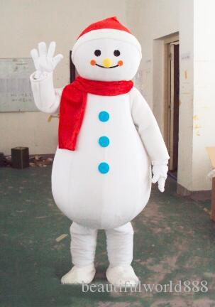 2018 High Quality Frosty Snowman Mascot Costumes Walking Adult Size Snow Man Cartoon Clothing Christmas Party Dress Superhero Mascot Costume Puppy Mascot ... & 2018 High Quality Frosty Snowman Mascot Costumes Walking Adult Size ...