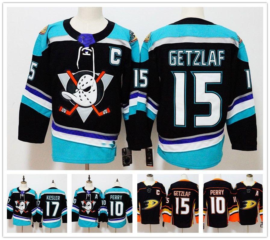 18 19 Anaheim Ducks  10 Corey Perry  15 Ryan Getzlaf  17 Ryan Kesler Blank  NEW BRAND Hockey Jerseys Men Stitched Black Hockey Jerseys S 3XL UK 2019  From ... 9c00f92c8