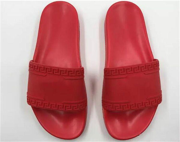 0ad44ca33d5 V077versace Women Mens Medusas Fashion Slippers Medusa Rubber Massage Slippers  Mens Comfortable Medusa Summer Beach Flip Flops Slipper Womens Loafers ...