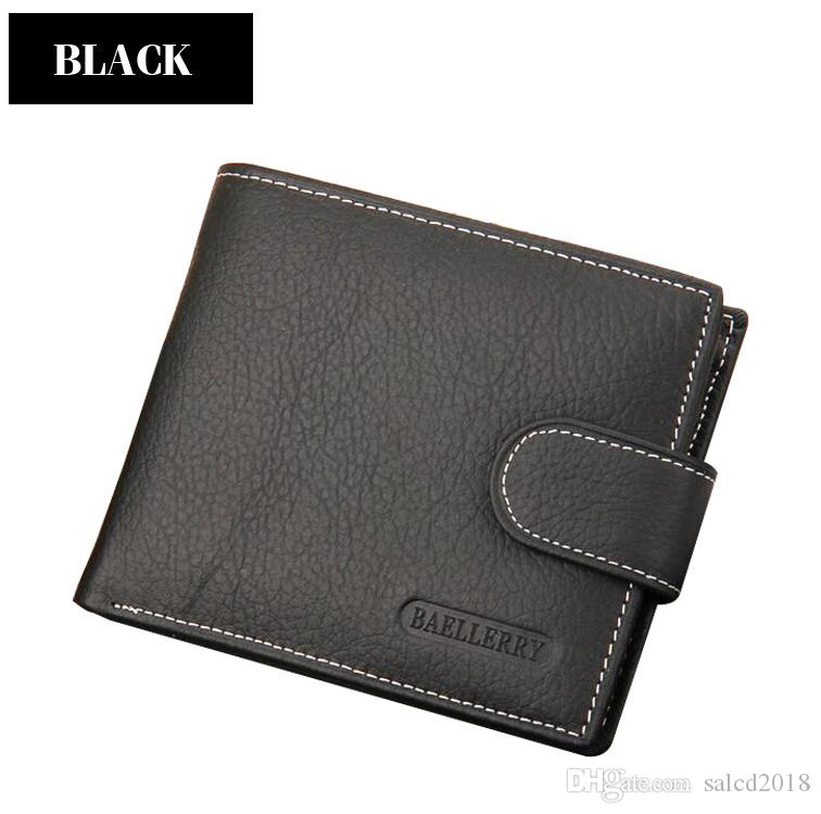 0f82ca84d6c8 Best Buy Baellerry Brand New Men Short Hasp Wallet Small Purses Male ...