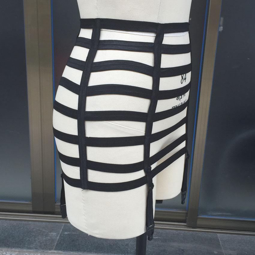 Women Baby Dolls Sexy Lady Garter Belt Lingerie Skirt Stocking Suspender Exotic Apparel elastic harajuku pole dance garter
