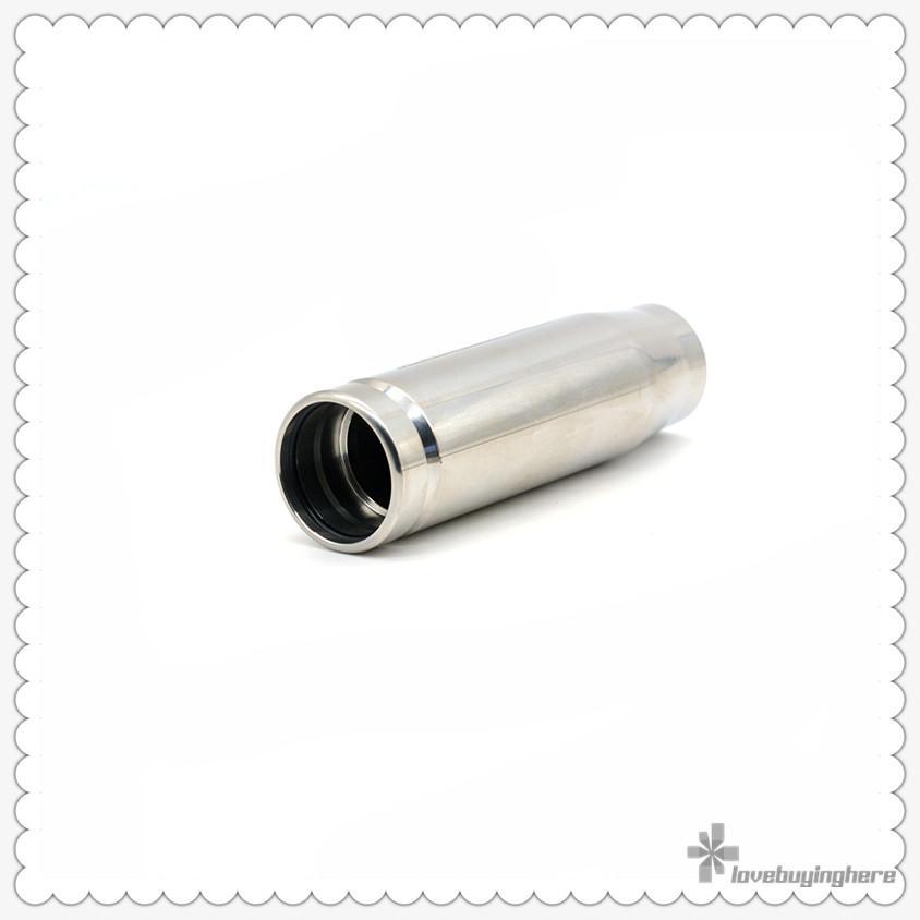 Gani Mech Mod Vape Mod Clone gani proiettile E-sigaretta Mods SS / ottone / rame 18650 Meccanica Mod alta qualità tubo Mod