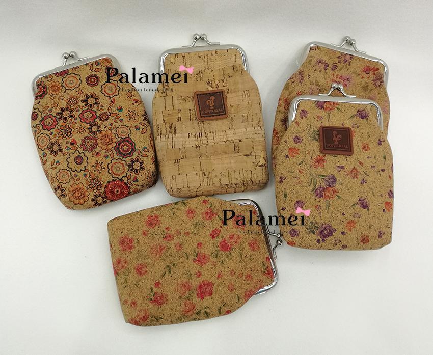 4e540ee71efc New style 2018 cork purse cork card bag cigarette packet Cigarette case