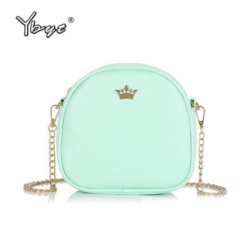 81466720af YBYT Brand 2018 New Flap Chains Sequined Crown Satchel Hotsale Women  Shopping Coin Purse Ladies Shoulder Messenger Crossbody Bag Brahmin Handbags  Messenger ...