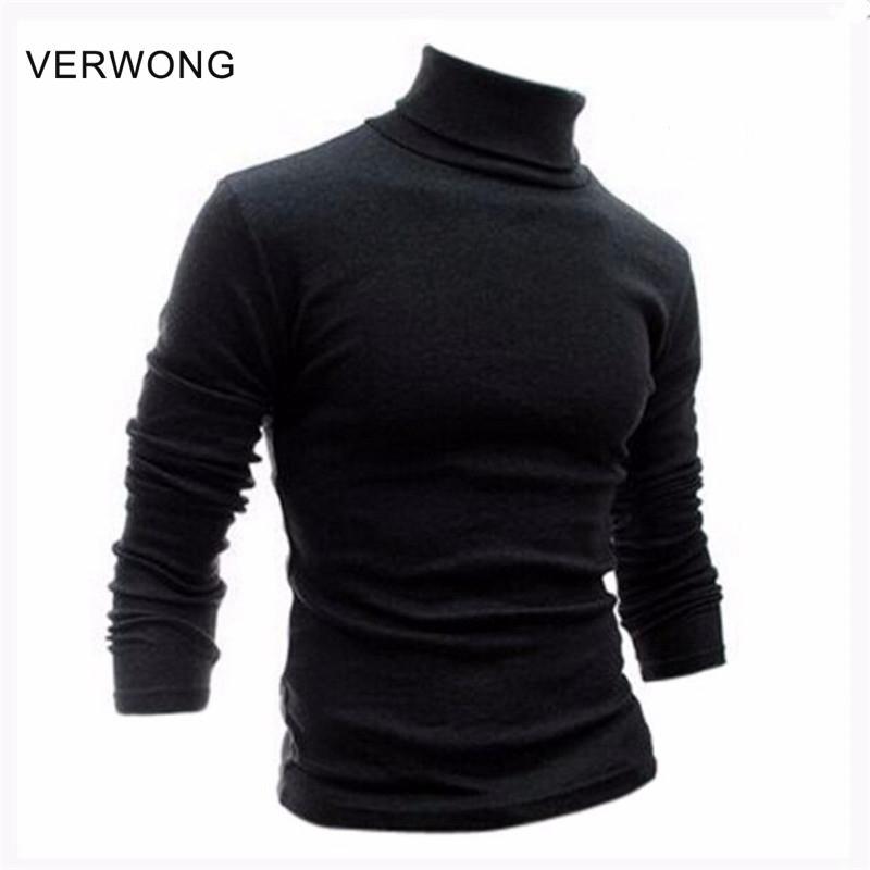 Camisa básica de cuello alto de hombre, con cuello redondo, camisa de manga larga con cuello de cisne, lijado, 100% algodón, ropa interior térmica
