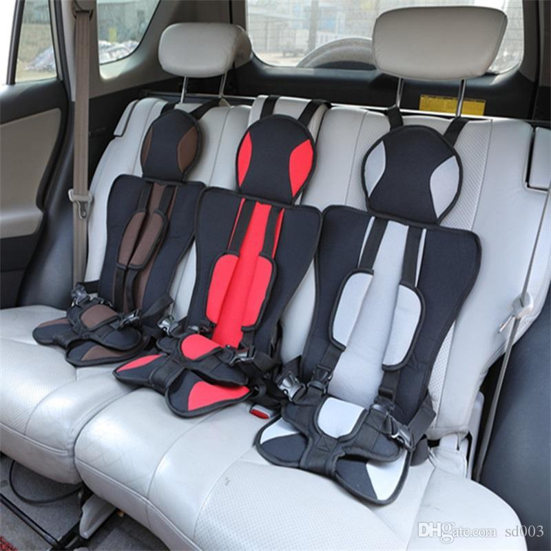 Practical Non Slip Fixed Portable Baby Car Seat Soft Comfort