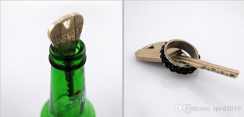 New Magic Trick Toy Folding Key Thru Bottle Or Ring Penetration Magic Trick Props Magic Joke Toy Easy To Play
