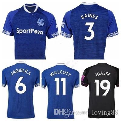 Compre 2018 2019 Everton Jersey 11 Walcott 14 CENK TOSUN GUEYE Everton  Local Y Fuera De La Liga De Primera División A  11.33 Del Loving88  da12891b5