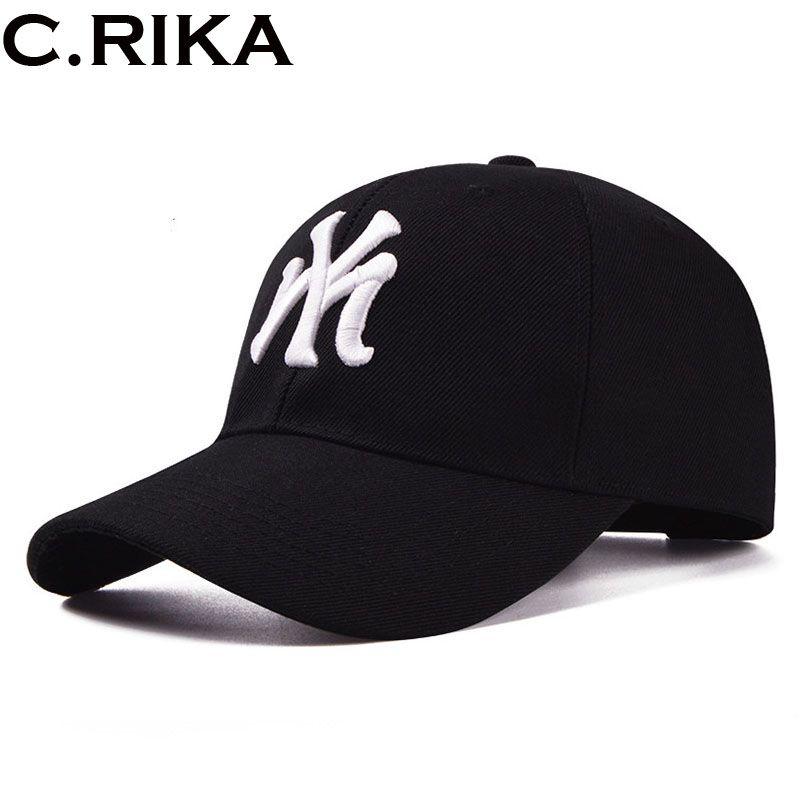 f8c321965a9 Fashion Brand Cotton Men Baseball Cap Ny Snapback Hat For Men Women Sun Hat  Letter Casquette Bone Casual Sport Gorras 2017 NEW Vintage Baseball Caps Cap  ...