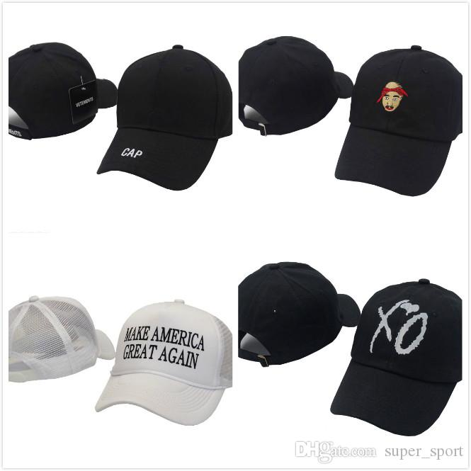 fa2952e9558 Make America Hat Donald Trump Republican VETEMENTS Snapback Sports Hats  Baseball Caps 2Pac Tupac Shakur Mens Womens DO Nothing Club Cap La Cap  Flexfit Cap ...