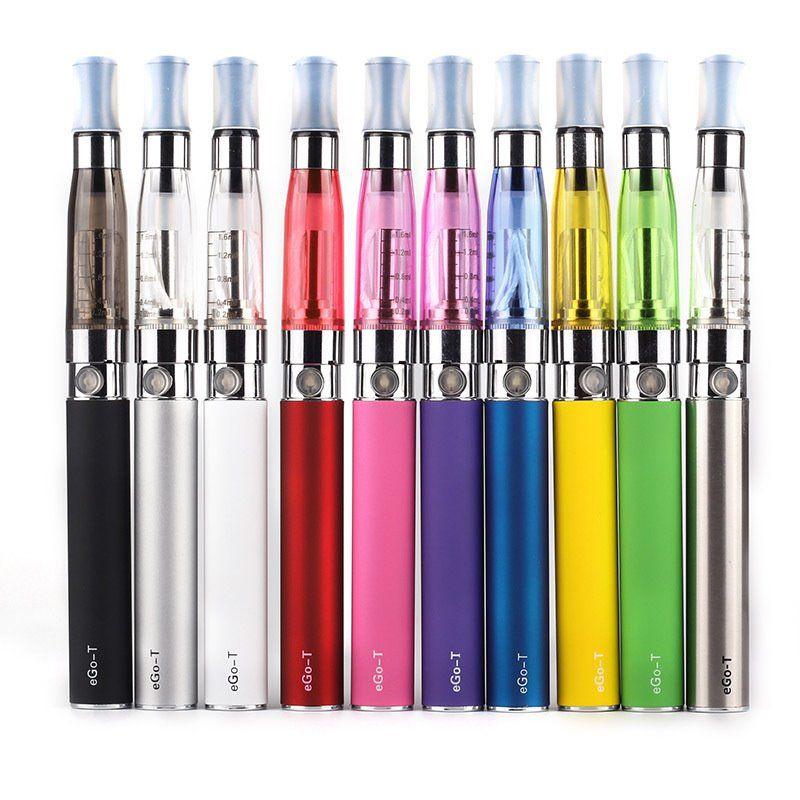 Ego starter kit CE4 atomizer Electronic cigarette e cig kit 650mah 900mah 1100mah EGO-T battery blister case Clearomizer E-cigarette