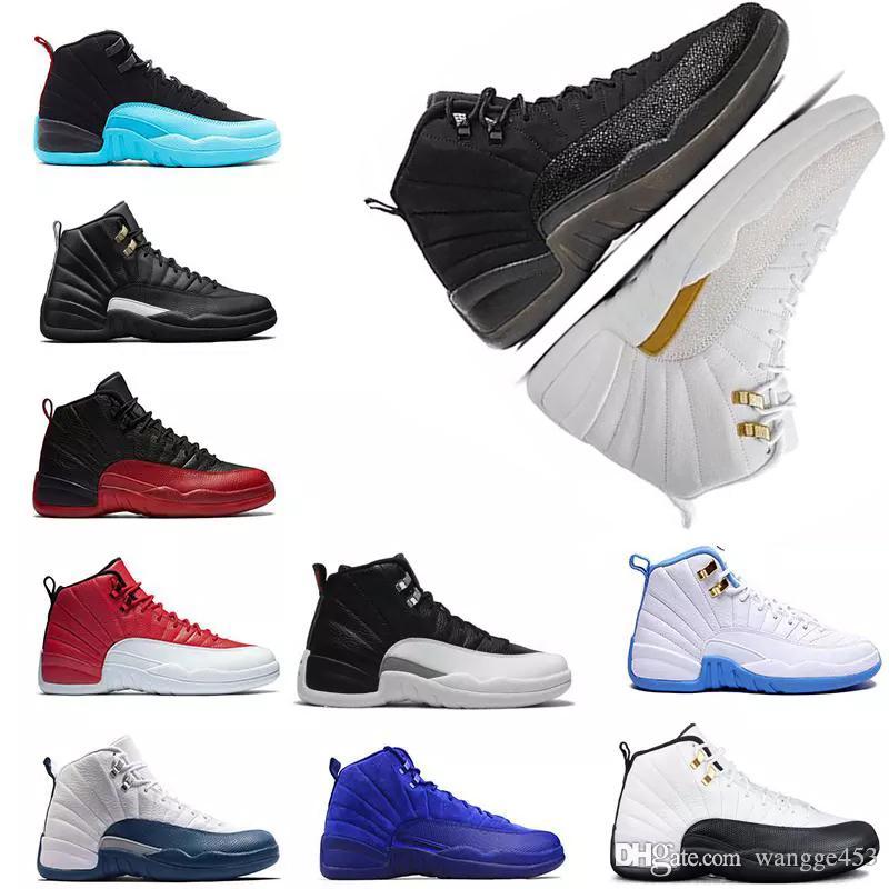 243b929f95ee Wholesale High Quality Men Basketball Shoe 12s 12 Flu Game Gamma Gym ...