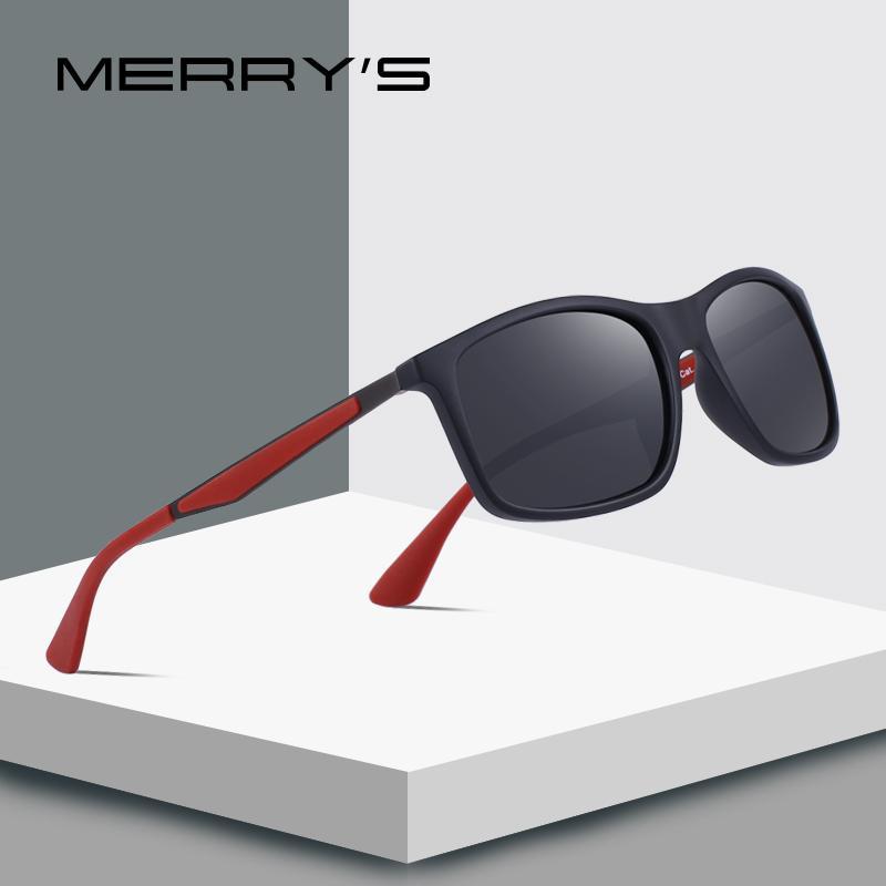 cba315d82 Compre MERRY'S DESIGN Hombre Clásico Gafas De Sol Polarizadas TR90 Piernas  Deportes Al Aire Libre Serie Ultraligera 100% Protección UV S'8161 A $20.48  Del ...