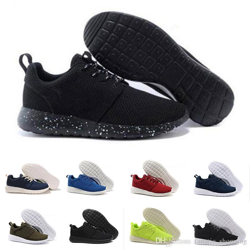 Vendita calda Scarpe da corsa da corsa classiche da uomo donna nero Traspirante London Olympic Sports Sneakers Scarpe da ginnastica taglia 36 45