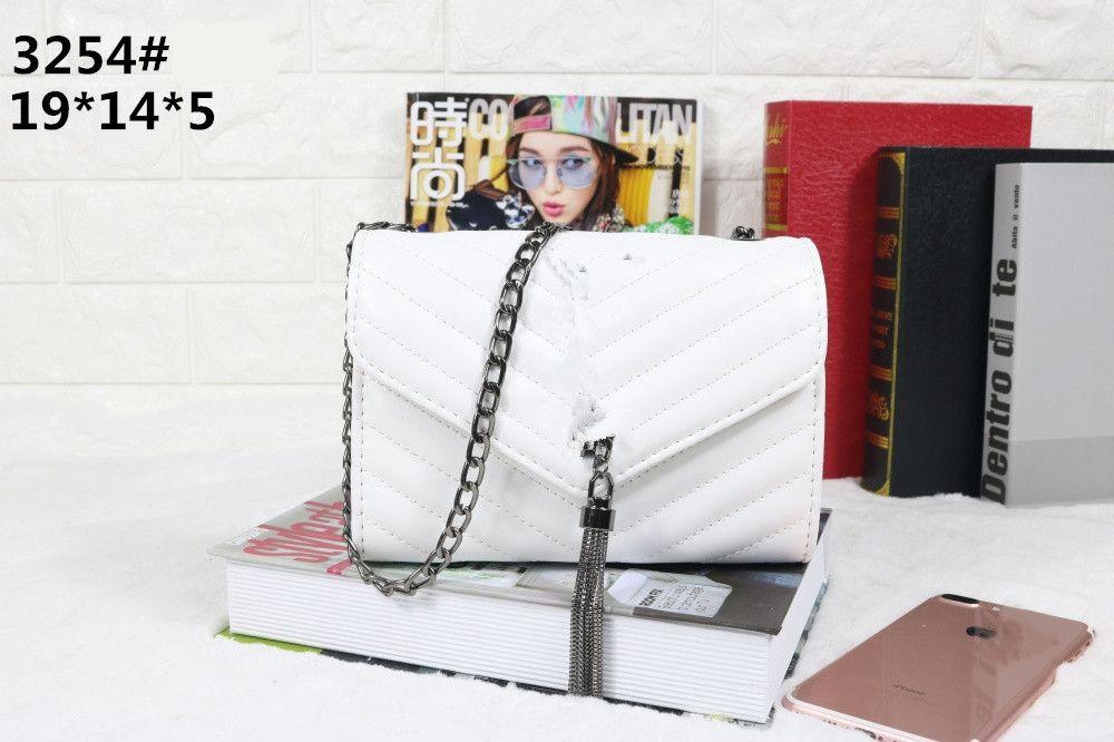 Borsa tote size19 * 5 * 14cm del totalizzatore del totalizzatore del sacchetto di qualità del raccoglitore della borsa delle donne di stile di marca di modo trasporto libero