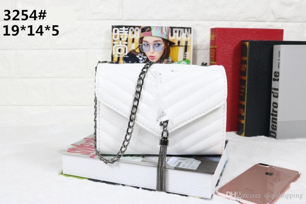 Moda marka stil kadın çanta cüzdan kaliteli mesaj çanta mustbag tote size19 * 5 * 14 cm tote ücretsiz kargo