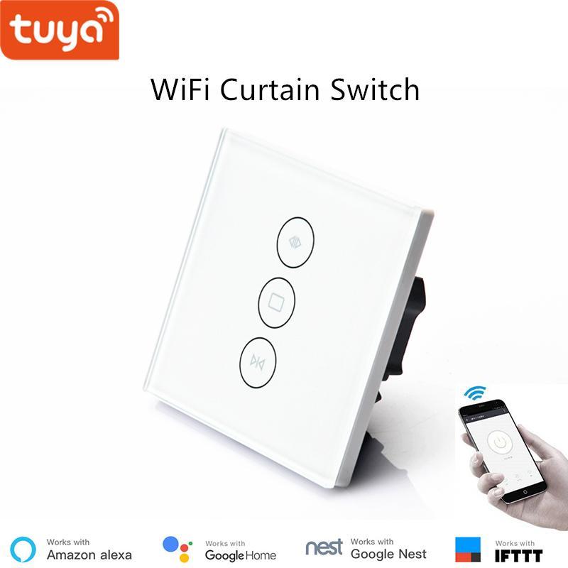 Grosshandel Smart Life Tuya App Steuerung Wifi Vorhangschalter Eu