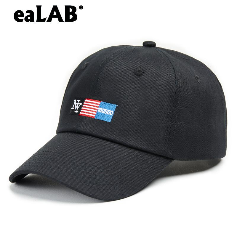 EaLAB Baseball Cap Men Dad Hat Women Sport Casual Hat Female Summer  Snapback Caps NY LOGO Unisex Male Bones Black Baseball Cap Custom Fitted  Hats Design ... 816f991904
