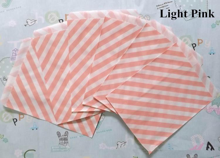 cheap paper Candy bag gift bags Diagonal stripes Favor BUFFET BAGS New year Wedding decoration Party Favor Food Packaging