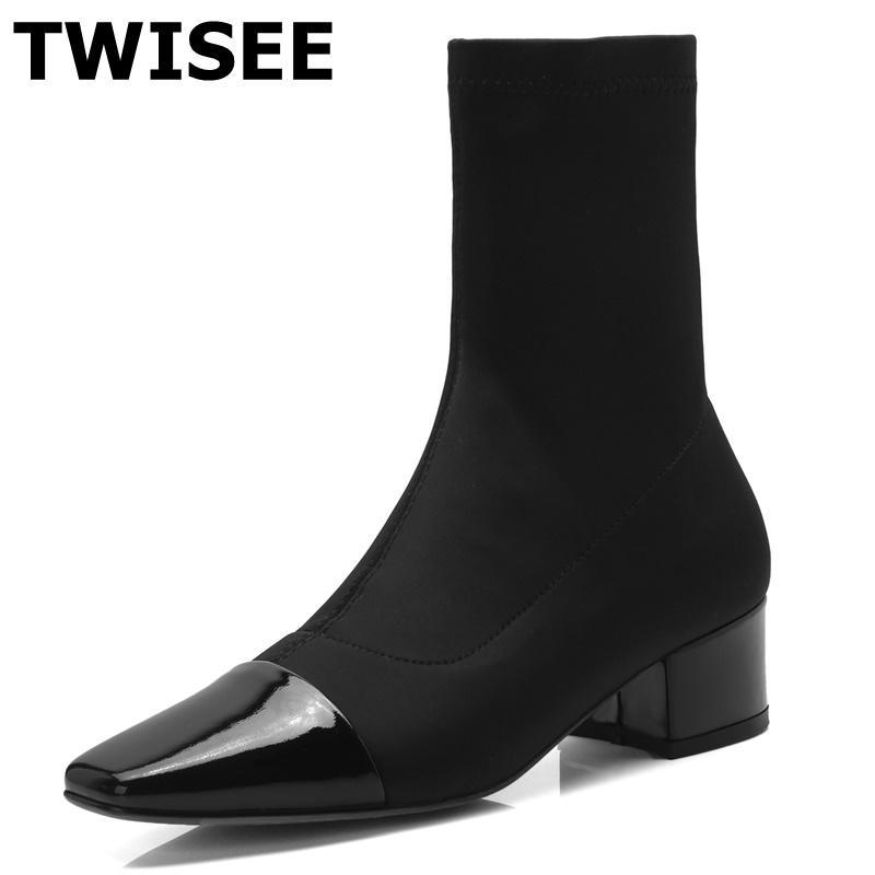 Media Estilo Botas Caña De Zapatos Mujer Nuevo Compre Moda Bombas fqOxPBww