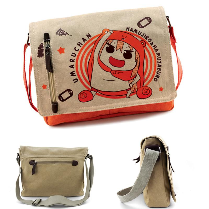 3f45fee1fbe7 High Quality Men Canvas Shoulder Bag Casual Travel Bolsa Men S Crossbody  Umaru Chan School Bag Vintage Men Messenger Bags Stone Mountain Handbags  Crossbody ...