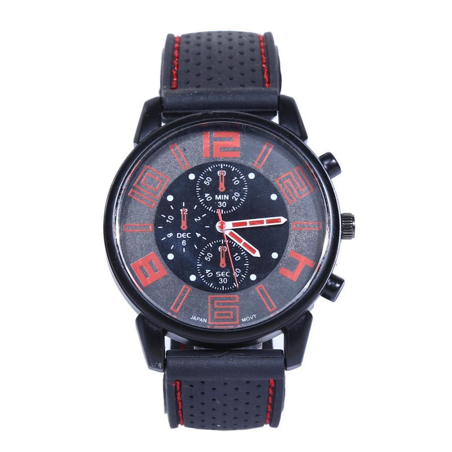 f1bc7ff84 Men's Watches Top Br Luxury Precise TimeMen Fashion Stainless Steel Sport  Cool Quartz Hours Wrist Analog Watch New Gift P*21