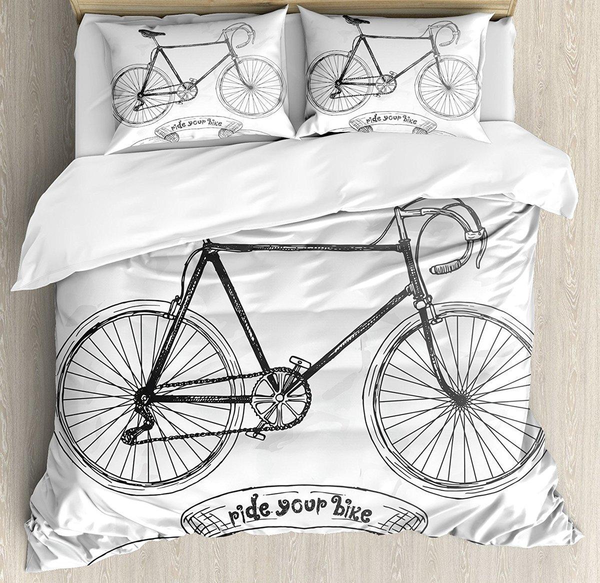Ride Acheter Housse Ensemble Wpfozpq De Your Couette Bicyclette Bike qXR450wn